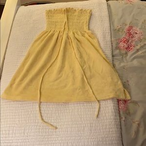 Yellow Juicy Couture Beach Cover-Up Dress - Size P